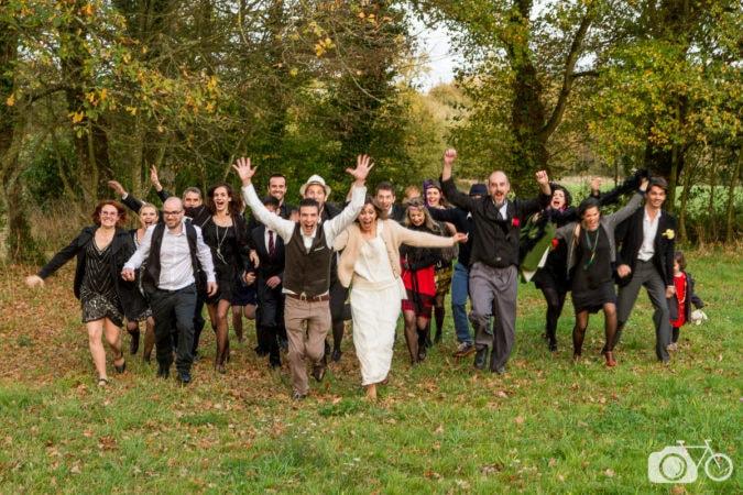Mariage, années folles, campagne, le photographe ambulant