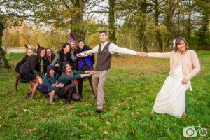 Mariage, années folles, lui, campagne, le photographe ambulant