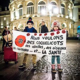 Nous voulons des coquelicots, Rennes Environnement, pesticides, résistance, mobilisation citoyenne, enfants