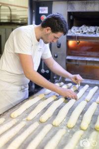 Boulanger à Chantepie, Le fournil de Cédric, le photographe ambulant, baguettes, four