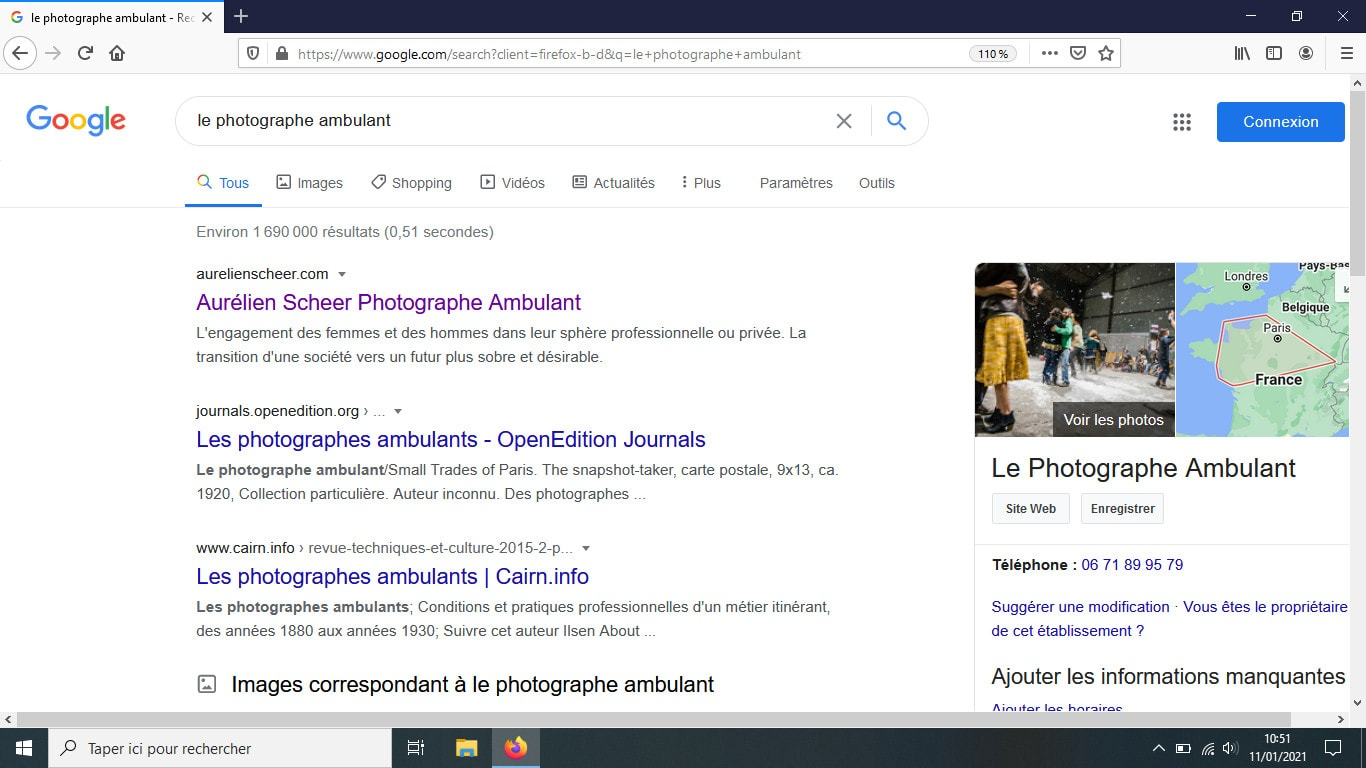 N°1 résultat Google