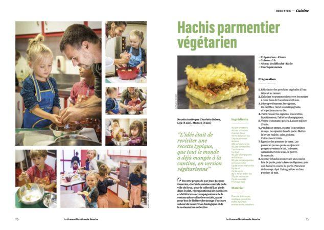 l'alimentation de demain cuisinée par les enfants